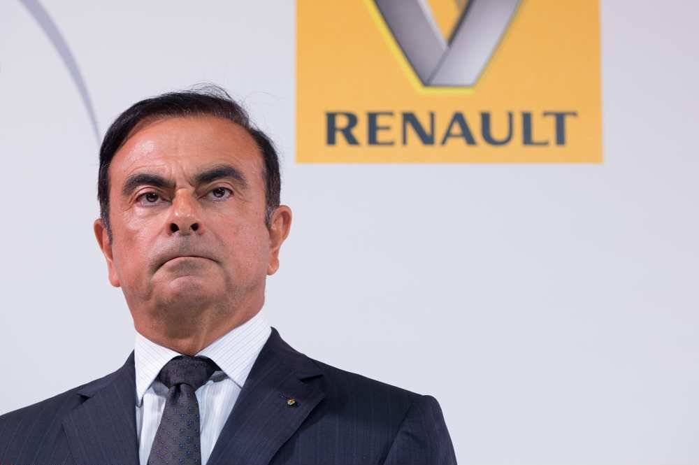 Carlos Ghosn, presidente 'suspendido' de Renault.